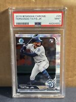 2019 Bowman Chrome #26 Fernando Tatis Jr. PSA 9 MINT San Diego Padres RC rookie