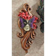 Italian Italian Art Venetian Carnivale Butterfly Maiden Ornamental Wall Mask