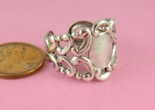 Adjustable Ring - 1 Pc(s) Antique Silver Ox Art Nouveau