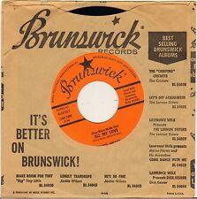 "JACKIE WILSON ""ALL MY LOVE"" SOUL 60'S SP BRUNSWICK 55167"