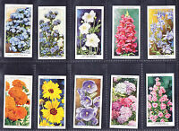 WILL'S GARDEN FLOWERS set of 50 - excellent condition. Catalogue £15 in sleeves