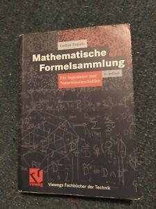 Mathematische Formelsammlung Papula