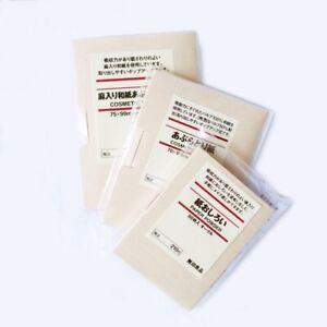 *MUJI FACIAL OIL CONTROL BLOTTING PAPER / LINEN BLENDED (Select)