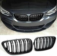 Grill Calandre rénale pour BMW f22//f23 m2 Look Noir Mat