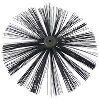 400mm Chimney Sweep Brush - LARGE - Chimney Sweeping Drain