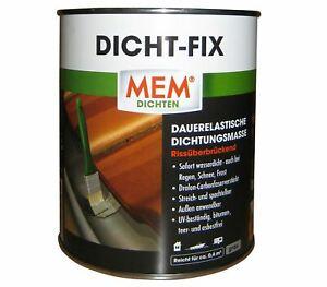 MEM Dicht Fix 750 ml 500221 // Dichtungsmasse // sofort Wasserdicht // Grau
