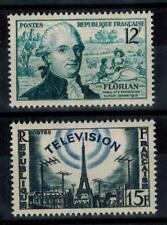(a10)  timbres de France n° 1021/1022 neufs** année 1955