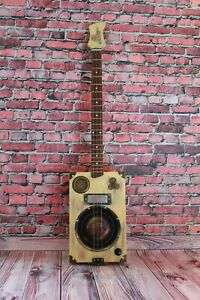 "Cigar Box Guitar ""Old Glory"""