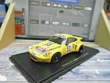 PORSCHE 911 Carrera 3.0 RS Le Mans 1976 #53 Andruet Sabine Dago Esso Spark 1:43