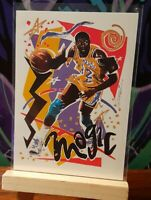 Lot of 10 Los Angeles Lakers * Magic Johnson * Jerry West * Donruss * NBA Hoops