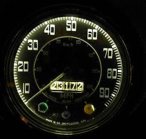MG TD TF Magnette Y Z series LED Bulb x4 Instrument/Dash Upgrade Set Warm White