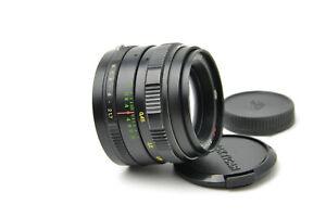 Rare! MC Zenitar ME1 1.7/50 M42 lens for Zenit 18 camera S/N 820969, SERVICED!