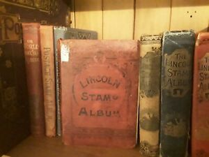 old stamp album,,LINCOLN,,