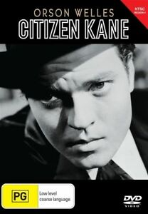 CITIZEN KANE DVD ORSON WELLS REGION 4 NEW AND SEALED