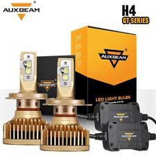 AUXBEAM H4 9003 LED Headlight Dual Hi/Lo Beam Light Bulbs Kit GT Series 6000K