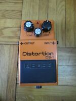 Vintage Boss DS-1 Distortion Guitar Effect Pedal Taiwan Early Model
