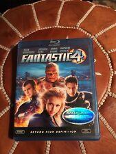 FANTASTIC 4 Blu-Ray DVD Movie