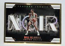 2019-20 Panini Noir Bill Russell Gold Metal Frame #d 11/11 FOTL
