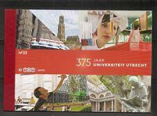 Netherlands. 375 Anniversary, University Of Utrecht. Complete Booklet. MNH