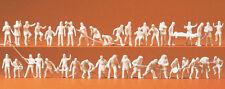 Preiser 16329 Pompiers. 42 Figurines Non-Peintes, H0