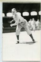 Old Baseball Photo Postcard Porter Vaughan
