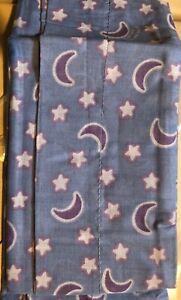 "Valance 80""X 13"" Moons & Stars Blue Purple Sanrio Pochacco NEW"