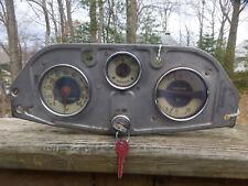 1935 Chevy Chevrolet Standard Instrument Cluster Speedometer Gauges
