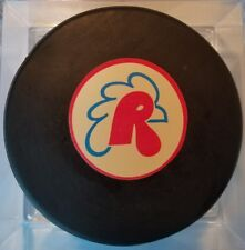 1970-76 VINTAGE AHL PROVIDENCE REDS  OFFICIAL GAME PUCK CCM ART ROSS CONVERSE US