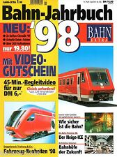Bahn Extra Heft 1/98 Bahn Jahrbuch 1998 Chronik 1997 Tempo 250 nach Berlin