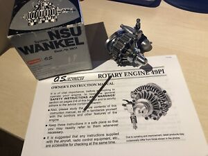 Graupner OS 49PI NSU Wankel Rotary 5cc RC Model Engine No. 1801