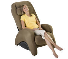 HT-2620 Robotic Massage Chair Recliner  iJoy CASHEW SofSuede