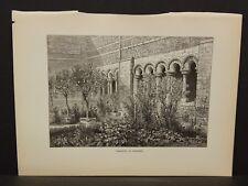Picturesque Europe Belgium Cloister At Tongres 1885 !i5#41