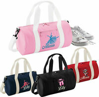 Girls Personalised Hockey Bag Gym Girls Sport School Any Name Amend as required