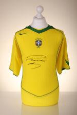 Roberto Carlos Signed Shirt Brazil Autograph World Cup Jersey Memorabilia COA