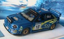 SUBARU IMPREZA WRC #10 RALLY SWEDEN 2002 MAKINEN IXOPRO8 1/43 LINDSTROM SUEDE