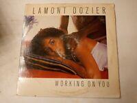 Lamont Dozier – Working On You - Vinyl LP 1981