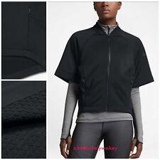 Nike Therma-Sphere Women's Short-Sleeve Training Top Black