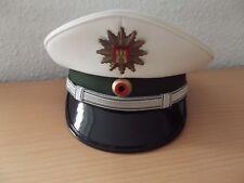 Polizeimütze-Mütze Polizei Hamburg alter Art weiß Größe 56