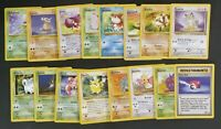 POKÉMON JUNGLE SET COMUNI COMPLETO 49 a 64 ITA LP/NM