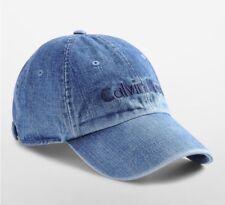 NWT Calvin Klein Men's Dark Denim Logo Cap $34.50
