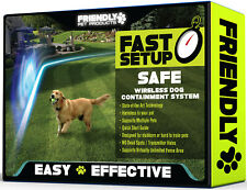 New listing Wireless Dog Training Containment System Fence Easy Setup New