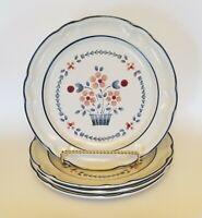 4 Hearthside Cumberland BRAMBLEBERRY Dinner Plates Japan Stoneware set of 4