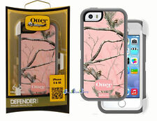 Brand New iPhone 5 OtterBox Defender Case Holster Realtree Pink Camo