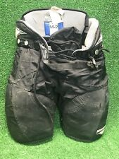 """New listing Mission Hockey Pants Black M-2 Floating Spinal Protection Youth Large 22""""-24"""""""