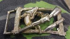 VTG Rifle Pistol Knife belt buckle