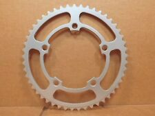 "New-Old-Stock SR Sakae (1/8"") Alloy Chainring (49T and 118 mm BCD)...Silver"