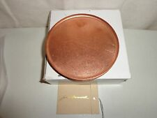 NEW FILSON X JACOB BROMWELL LIMITED EDITION SET OF 4 COPPER COASTERS MADE IN USA