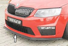 Rieger CUP Spoilerschwert für Skoda Octavia 5E RS Frontspoiler Spoilerlippe Ansa