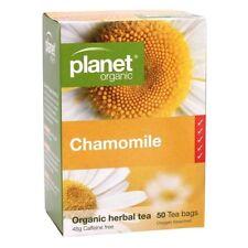 Planet Organic Chamomile Herbal Tea 50 Tea Bags