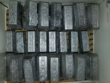 10 or 20 lbs Lead Ingots Soft Fluxed Lead Ready for Your DIY Lead Hobbies 5